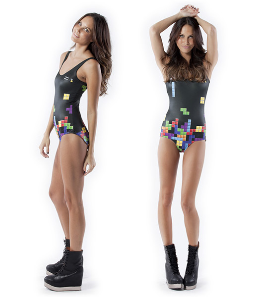 Retro Gamer Tetris Swimsuit