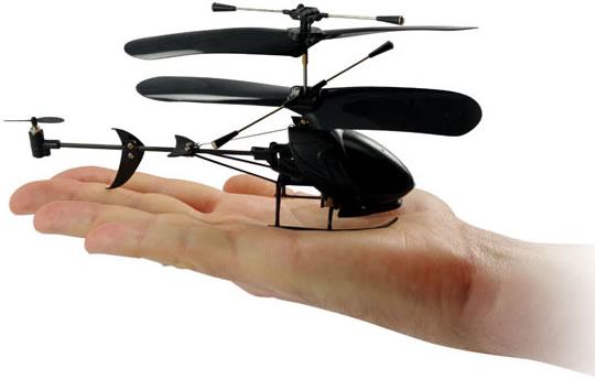 Black Stealth R/C Helicopter