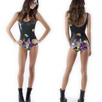 BlackMilk Tetris Swimsuit