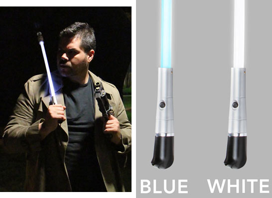 blade runner led umbrella blue