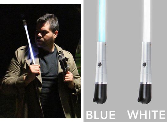 blade runner led umbrella blue