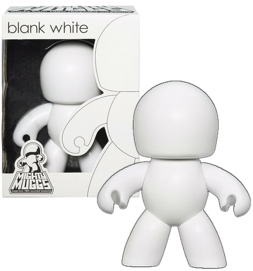 Blank White Mighty Muggs