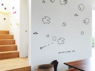 Blik Asteroids Wall Stickers