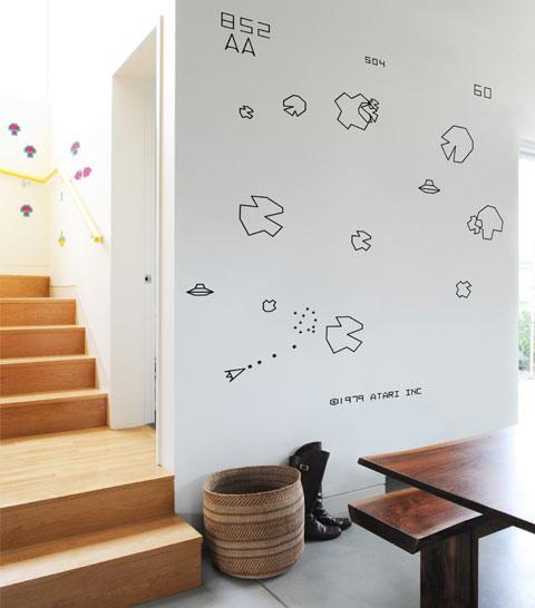 Blik Re-Stik Asteroids Wall Stickers