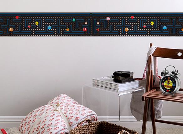 Blik Pacman Border Wall Decals. Designer Wallpaper Border  telstra us
