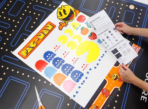 Blik Pacman Wall Stickers