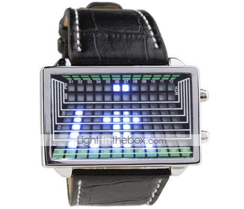 Blue LED Digital Watch