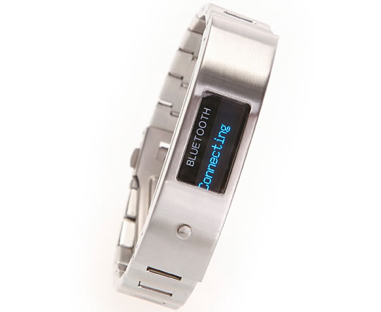 Vibrating Bluetooth Bracelet with LCD Display