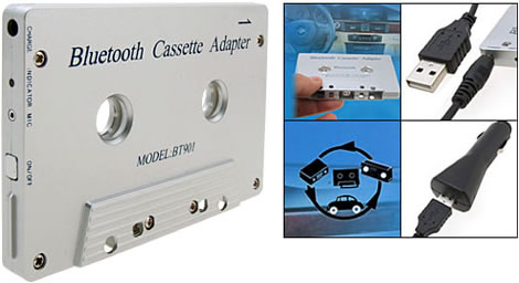 Bluetooth Cassette Tape Adapter
