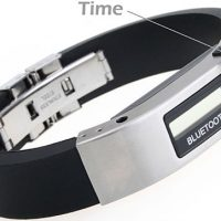 Vibrating Bluetooth Bracelet with Watch
