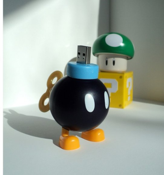4GB Nintendo Bob-Omb USB Flash Drive