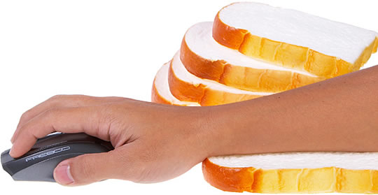 White Bread Wrist Rest