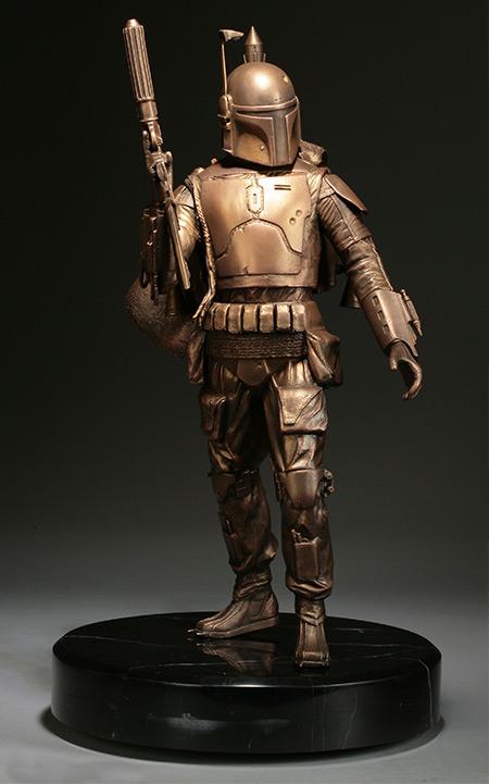 Boba Fett Bronze Statue