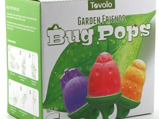 bug shaped popsicle mold