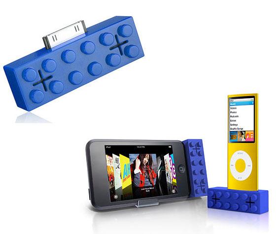building brick ipod speaker inuse