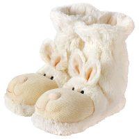 Bunny Fun for Feet Slipper Socks