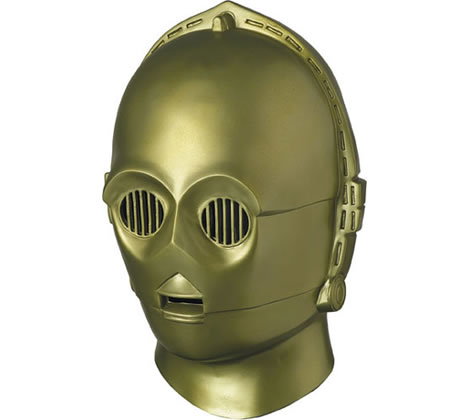 Collectors Edition C-3PO Helmet Mask