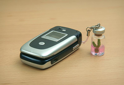 Pet Cactus Cell Phone Charm
