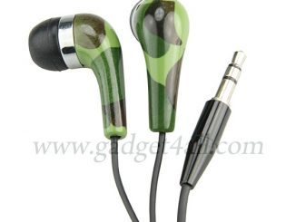 Camouflage Earbuds