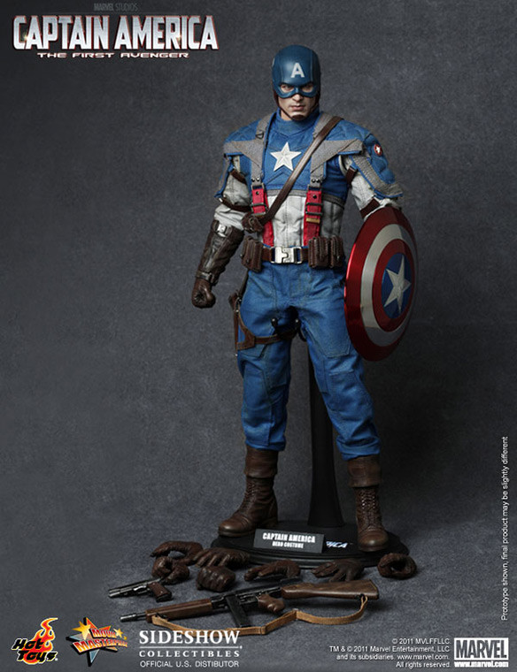 Captain America First Avenger Scale Figure