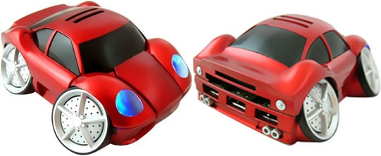 Car-Shaped USB Card Reader