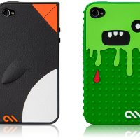Case-Mate Waddler and Monsta iPhone 4 Cases