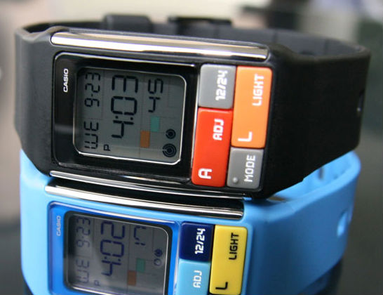 Casio Cubic Puzzle Watch