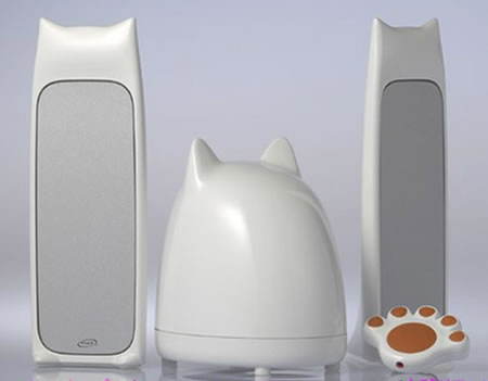 2.1 Channel Multimedia CatSpeaker