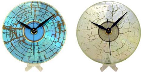 Sparkly CD Clock