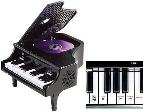 Piano CD Player and Radio