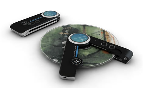 Portable MP3 and CD Player Combo