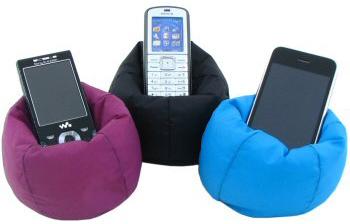 Beanbag Chair For Cellphones Geekalerts