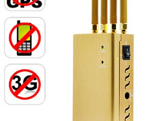 High Power GPS, Cell Phone, 3G Signal Jammer