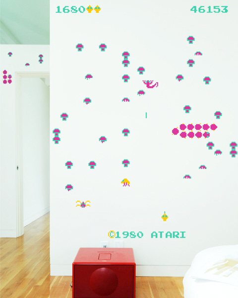 Centipede Wall Decals