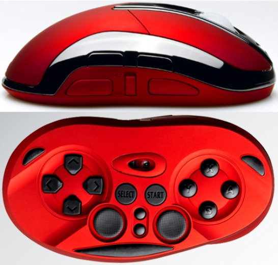 Mouse with Gamepad