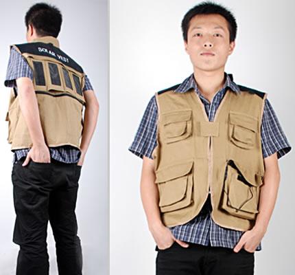 Gadgets Solar Charger Vest