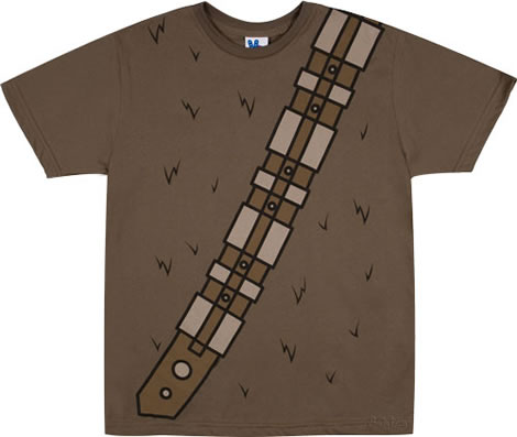 Chewbacca Costume T-shirt