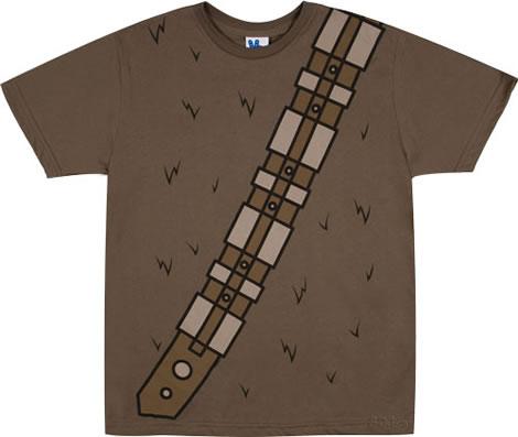 Chewbacca Costume T-shirt