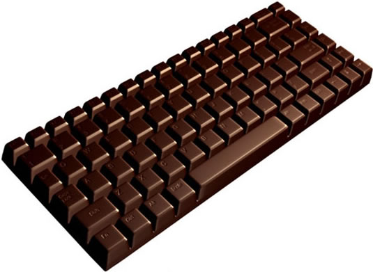 Chocolate Keyboard | GeekAlerts
