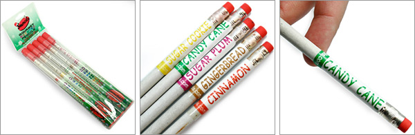 Christmas Scented Pencils