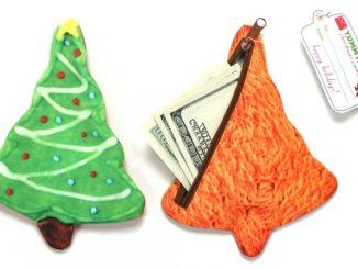 Christmas Tree Cookie Yummy Pockets