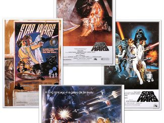 classic star wars movie posters