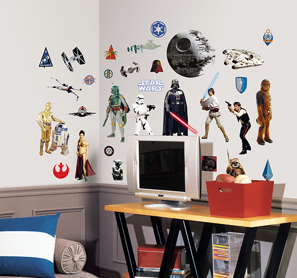 Roommates Star Wars Classic Wall Decals