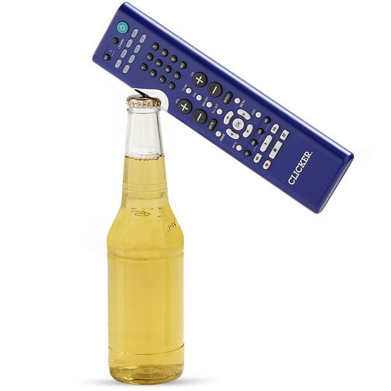 Clicker Remote Control and Bottle Opener