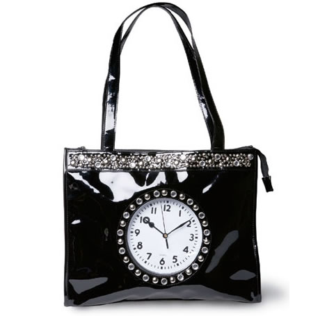 Glitzy Watch Tote