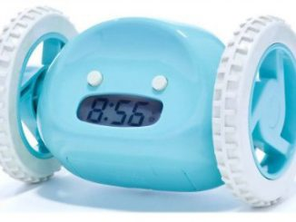 Clocky Alarm Clock With Wheels