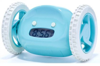 Clocky The Alarm Clock On Wheels
