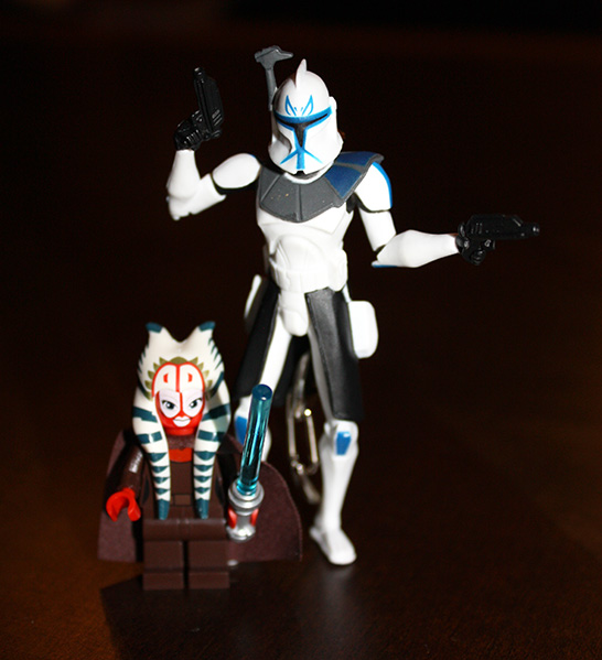 Clone Captain Rex Key Chain
