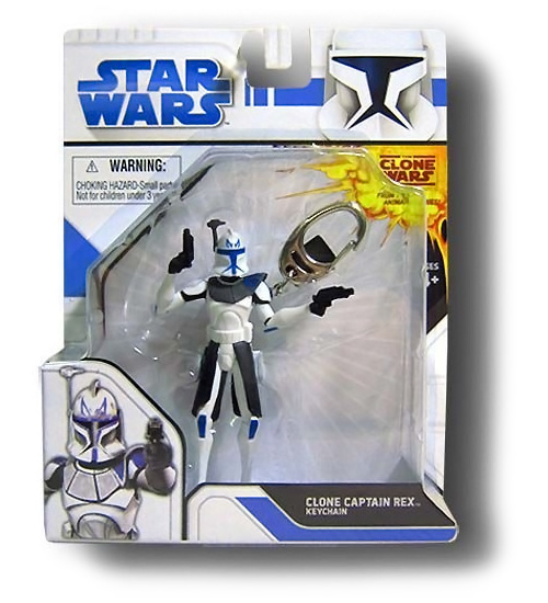 Star Wars Clone Captain Rex Keychain