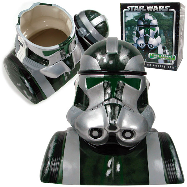 Clone Commander Gree Cookie Jar